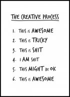 The Creative Process Póster