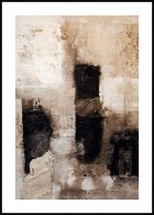 Beige abstracto Poster