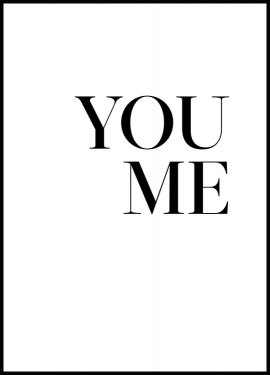 You. Me. Póster