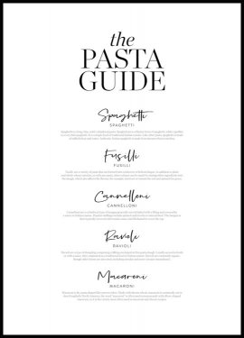 Pasta Guide Póster