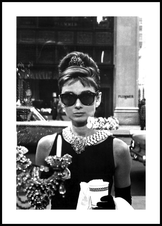 Breakfast at Tiffany's Póster